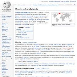 Empire colonial danois