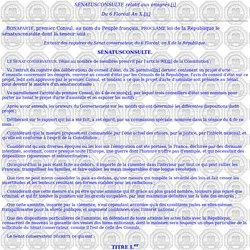 Ier Empire Documents - Bulletin des Lois