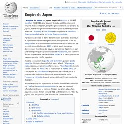 Empire du Japon