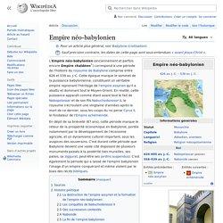 Empire néo-babylonien