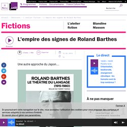 L'empire des signes de Roland Barthes