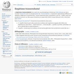 Empirisme transcendantal