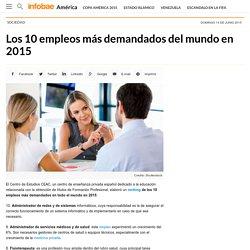 Los 10 empleos más demandados del mundo en 2015