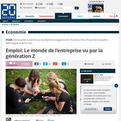 Emploi: Le monde de l'entreprise vu par la génération Z