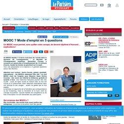 MOOC ? Mode d'emploi en 5 questions - Universités