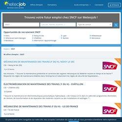 Emploi SNCF recrutement - Meteojob