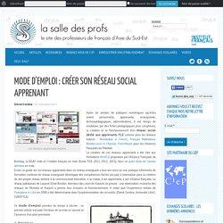 Perle 6 Mode d'emploi : créer son réseau social apprenant