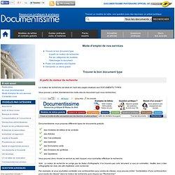Ressources juridiques et documents types