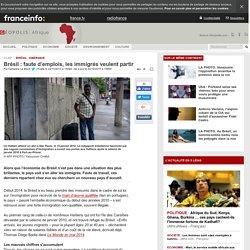 Brésil : faute d'emplois, les immigrés veulent partir