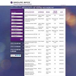 Stage En Ingénierie De Système D'information Base De Données Documentaires à Ile De France, France - BPCE