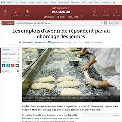 Les emplois d'avenir ne répondent pas au chômage des jeunes Le Figaro 3 nov 2014