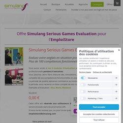 EmploiStore Evaluation - Simulang - Le Premier Serious Games pour l'Anglais Professionnel