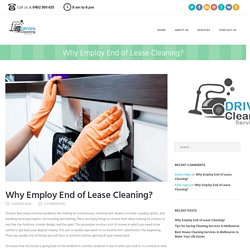 End of Lease - Hire End of Lease Cleaning Professionals