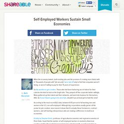 Self-Employed Workers Sustain Small Economies