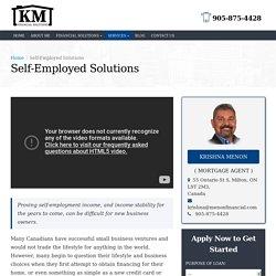 Self-Employed Mortgage in Milton