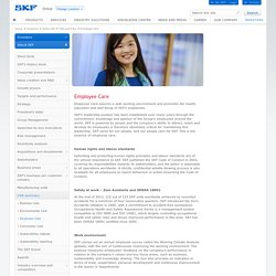 SKF case - Employee Care