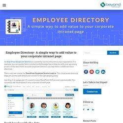 Employee Directory Template