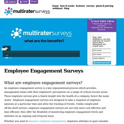 Employee Engagement Surveys - Everything you need to know