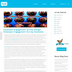 Employee Engagement Survey Design