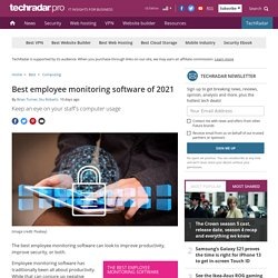Best employee monitoring software of 2021