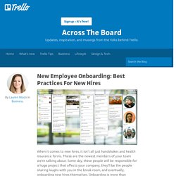 New Employee Onboarding: Best Practices For New Hires