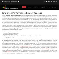 Employee Performance Review, Employee Review