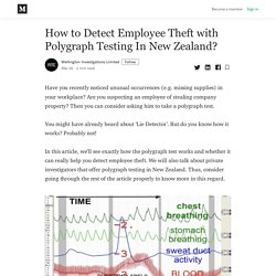How to Detect Employee Theft with Polygraph Testing In New Zealand?