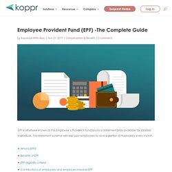 EPF - Employee Provident Fund