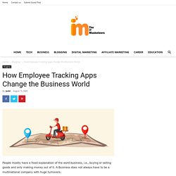 How Employee Tracking Apps Change the Business World - iHound