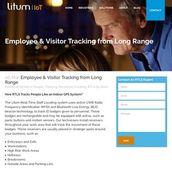 Employee & Visitor Tracking with Long Range RFID Systems