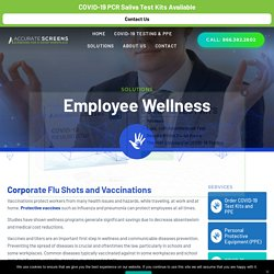Employee Wellness Solutions with Accurate C&S Services, Inc