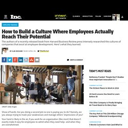 How to Build a Culture Where Employees Actually Reach Their Potential