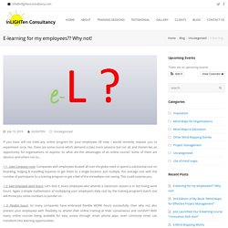 E-learning for my employees?? Why not!