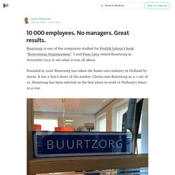 10 000 employees. No managers. Great results.