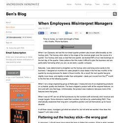 When Employees Misinterpret Managers