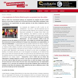 Les employées de Patrice Bréal en grève au premier jour des soldes