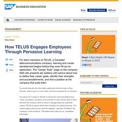 How TELUS Engages Employees Through Pervasive Learning - Innovation