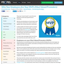 Why Your Employees Are Your MVPs (Most Valued Promoters)