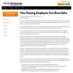 How Training Employees Can Boost Sales - VerticalResponse