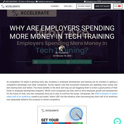 Why Are Employers Spending More Money in Tech Training