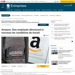 Amazon. Des employés dénoncent à nouveau les conditions de travail