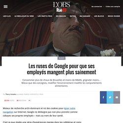 Les ruses de Google pour que ses employés mangent plus sainement