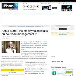 Apple Store : les employés satisfaits du nouveau management ? - iPhone 7, 6s, iPad et Apple Watch : blog et actu par iPhon.fr