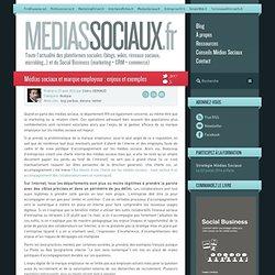 Médias sociaux et marque employeur : enjeux et exemples