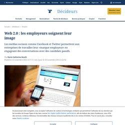 Web 2.0: les employeurs soignent leur image
