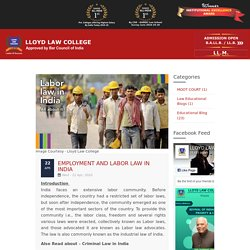 Employment and labor law in India