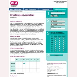Employment Assistant - Do-it