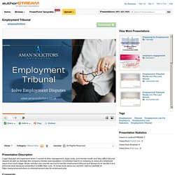 Employment Law For Employers