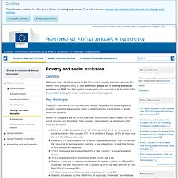 Poverty and social exclusion - EU