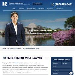 DC Employment Visa Lawyer